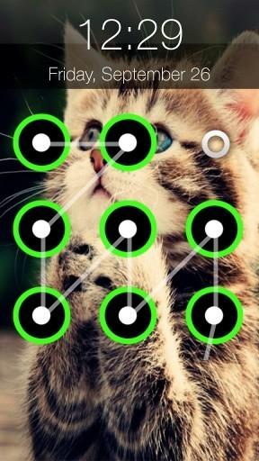 Kitty Lock Screen