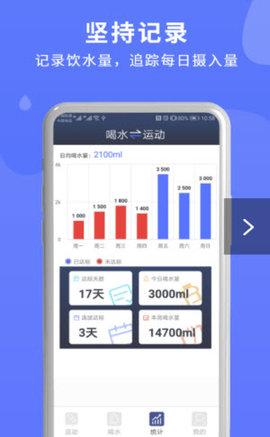 蓝米喝水 2.0.1 安卓版
