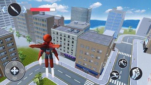 火柴蜘蛛英雄城市奔跑安卓版